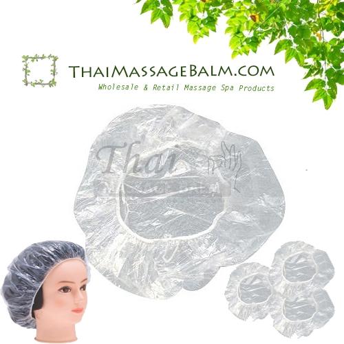 Clear Plastic Shower Caps