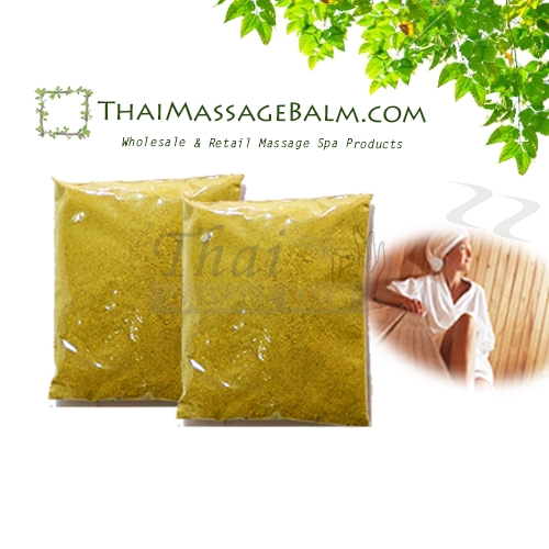 herbal steam powder for sauna